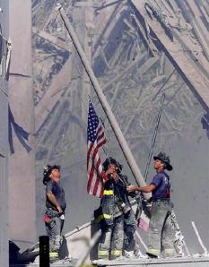 raising-the-flag  9-11-2001