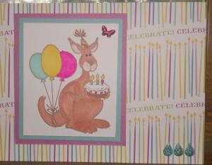 Happy Birthday Kangaroo